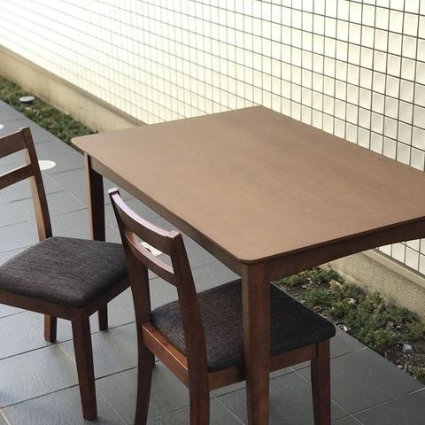 モダンダイニングテーブル+イス セット / ニトリサムネイル